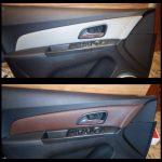Перетяжка дверных карт Chevrolet Cruze (Шевроле Круз )