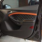 Перетяжка дверных карт Ford Focus 3 (Форд Фокус3)2012г